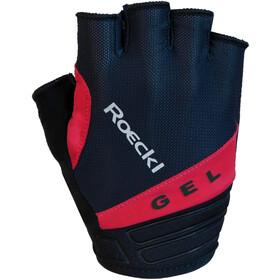Roeckl Itamos Handschoenen, zwart/rood